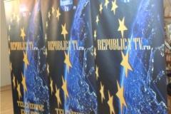 banner indoor rollup